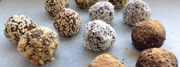 carob balls